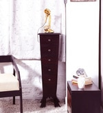 Claire Chest of Drawers in Passion Mahogany Finish