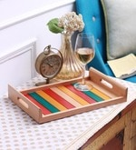 Clasicraft Big Wooden Multicolour Tray