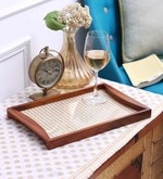 Clasicraft Round Handle Wooden Tray