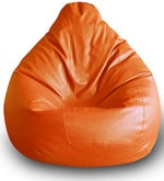 Classic XXL Bean Bag Cover in Orange Colour