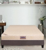 Classic Care King Bed Back Support Reversible 78x72x6 Inch Bonnell Spring Mattress (Free Pillow)