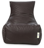 Clasic Lounger XXXL Bean Bag with Beans in Brown Colour