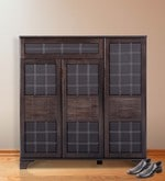 Clayton Shoe Rack in Wenge Colour