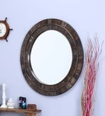 Black Mango Wood Mirror