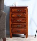 Clio Chest of Drawers in Honey Oak Finish