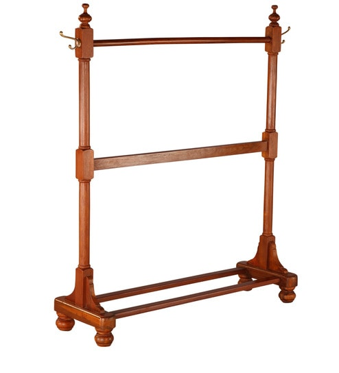 Buy Classic Clothes Rack Teak Wood By Tube Style Online