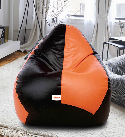 Admirable Classic Style Xxxl Bean Bag With Beans By Sattva Alphanode Cool Chair Designs And Ideas Alphanodeonline