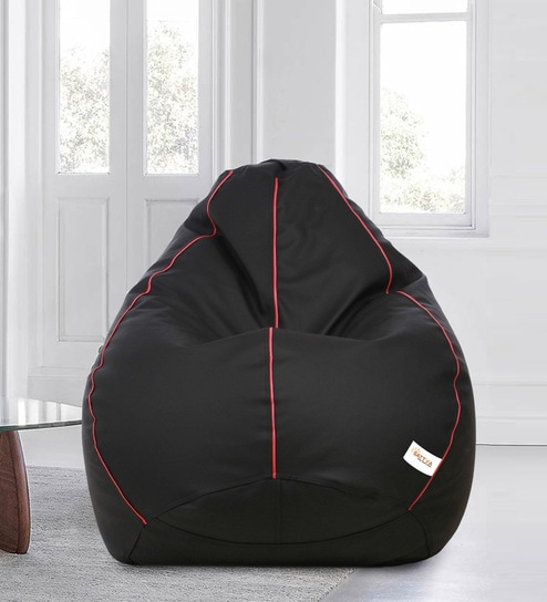 Pleasing Classic Style Xxxl Bean Bag With Beans By Sattva Machost Co Dining Chair Design Ideas Machostcouk