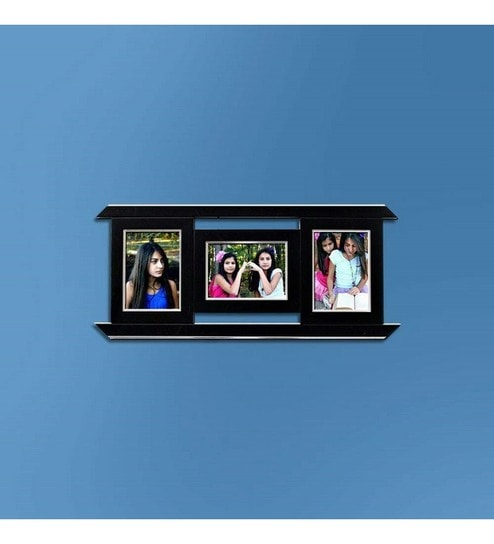 Buy Snap Galaxy Black Synthetic Wood Classic 3 In 1 Collage Photo ...