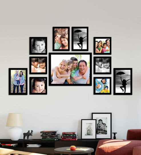 Buy Classy Memory Timeline Black Wood Photo Frame by Art Street ...