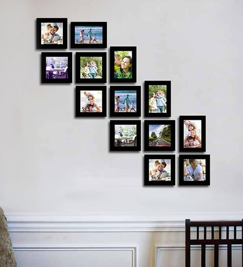 Buy Timeline Photo black Acrylic Photo Frame by Art Street Online ...