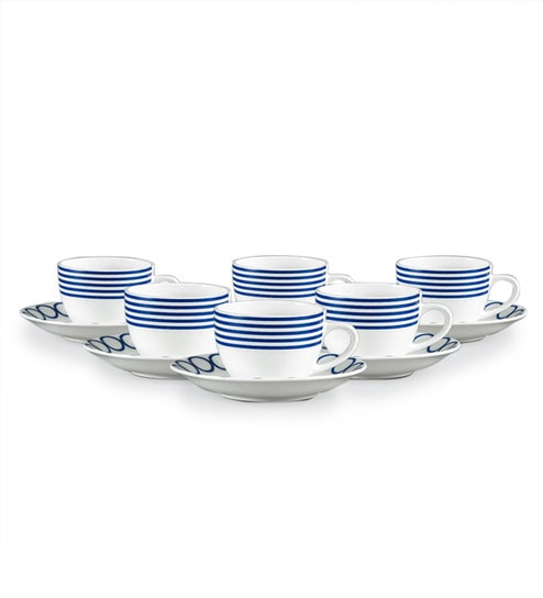Clay Craft 12 Piece Cup Saucer Set By Clay Craft Online Cups