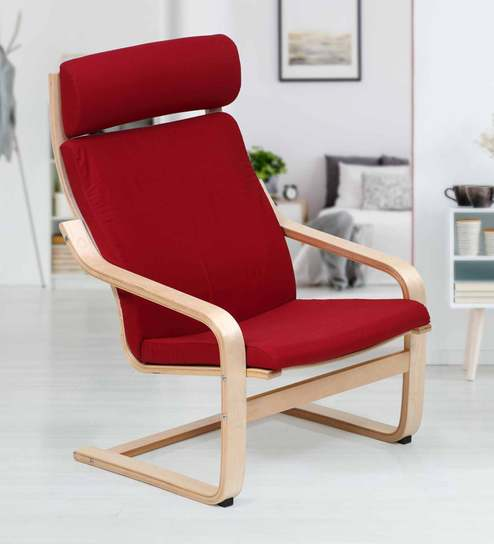 Groovy Clifton Cantilever Chair In Red Colour By Evok Gamerscity Chair Design For Home Gamerscityorg