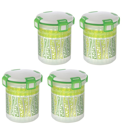 Joyo Green Clip N Lock Storage Container Set of Two by Joyo Online