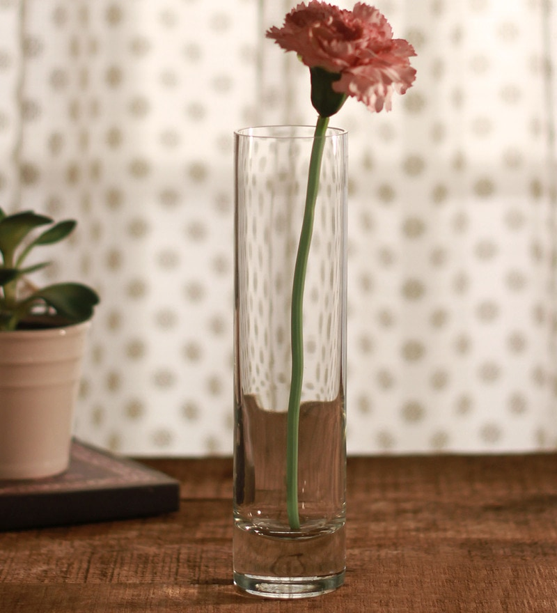Clear Glass Flora Bud Flora Vase by Pasabahce