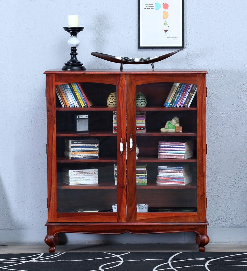 Clifford Book Case in Honey Oak Finish by Amberville