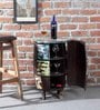 Clapton Bar Cabinet in Distress Finish by Bohemiana