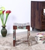 Clapton Rustic Stool in Distress Finish by Bohemiana