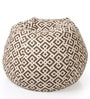 Geometric Design XXL Bean Bag Cover in Multicolour by Style HomeZ