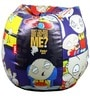 Family Guy Stewie Kids Bean Bag Cover in White Colour by Orka