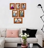 Cle Photo Frame in Brown by CasaCraft