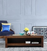 Acropolis Solid Wood Coffee Table in Provincial Teak Finish