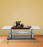 Coffee Table in Black & Beige Colour