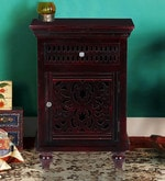 Coghill End Table in Passion Mahogany Finish