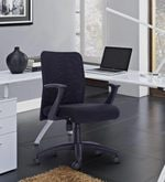 Comfort Low Back Chair in Black Colour