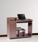 Companion Computer Table in Walnut Finish