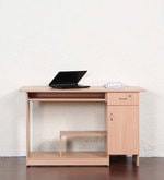 Study & Laptop Table in Beech Finish