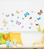 Butterfly Theme PVC Vinyl Wall Sticker