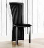 Costa Dining Chair (Set of 6) in Black Colour
