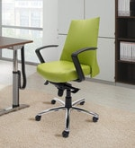 County Ergonomic Chair in Green Colour
