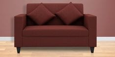 Cooper Two Seater Sofa in Cherry Colour