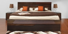 Cosmo King Size Bed with Hydraulic Storage