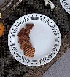 Corelle India Impressions City Block Dinner Plates - Set Of 6
