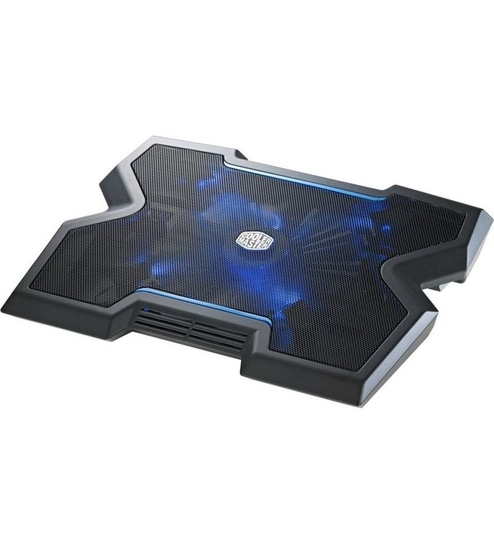 Cooler Master NotePal X3 Laptop Notebook Cooling Pad Stand w//Blue LED Fan