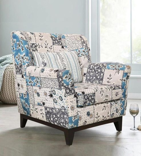 Astonishing Colette Accent Chair In Blue Colour By Peachtree Ocoug Best Dining Table And Chair Ideas Images Ocougorg