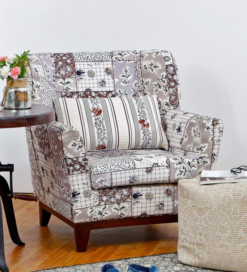 Tremendous Colette Accent Chair In Brown Colour By Peachtree Ocoug Best Dining Table And Chair Ideas Images Ocougorg