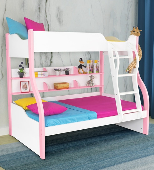 Buy Columbia Bunk Bed In Pink By Alex Daisy Online Bunk Beds