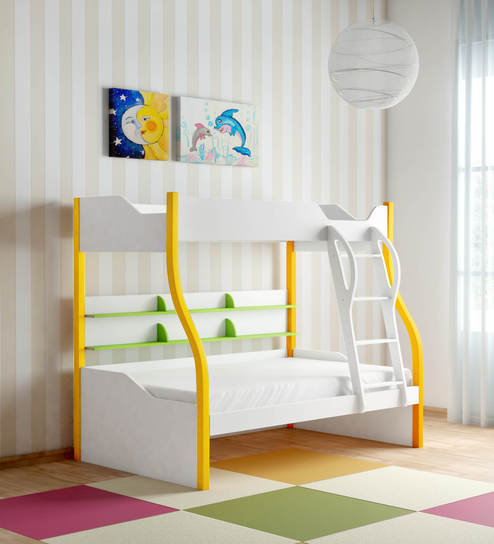 Buy Columbia Kids Bunk Bed In Yellow Green By Alex Daisy Online