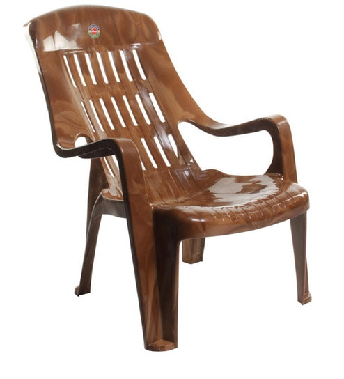 Comfort Set Of Two Sit Back Chair In Sandalwood Brown Colour By Cello