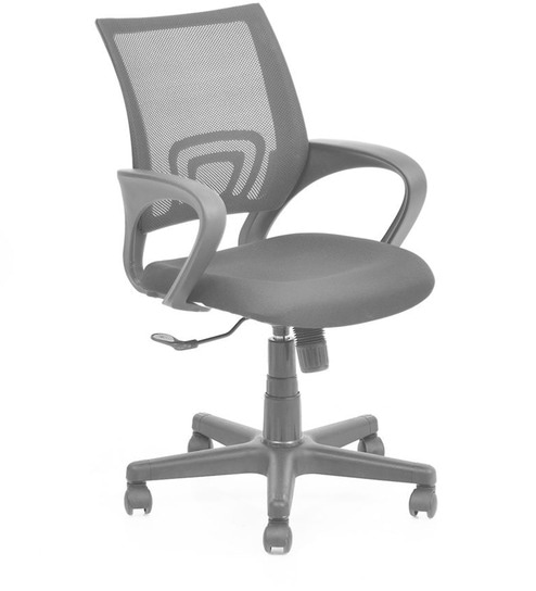 537164f74 Buy Concept Ergonomic Revolving Chair in Black Colour by Nilkamal Online -  Ergonomic Chairs - Office Furniture - Furniture - Pepperfry Product