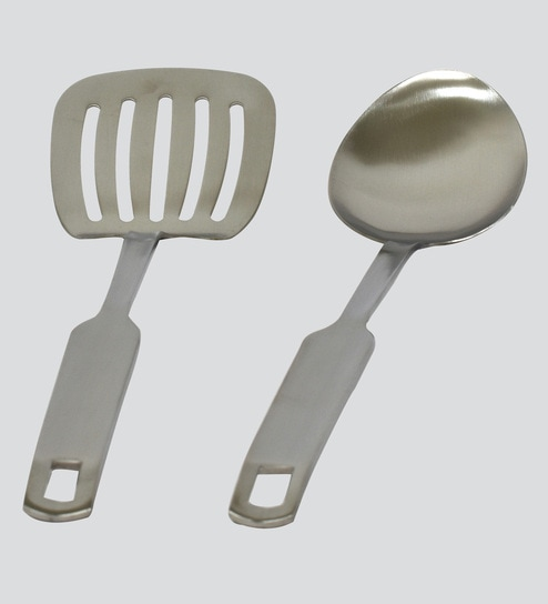 Buy Cook Ez Silver Stainless Steel Kitchen Tools Set Of 2 Online