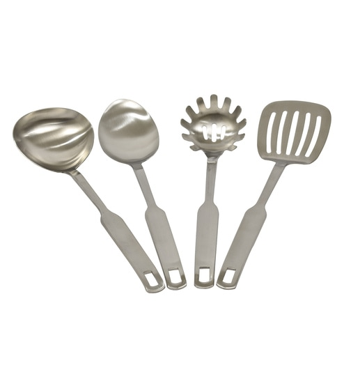 Buy Cook Ez Silver Stainless Steel Kitchen Tools Set Of 4 Online