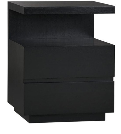Copenhagen short black bedside table by mudramark online bedside copenhagen short black bedside table watchthetrailerfo