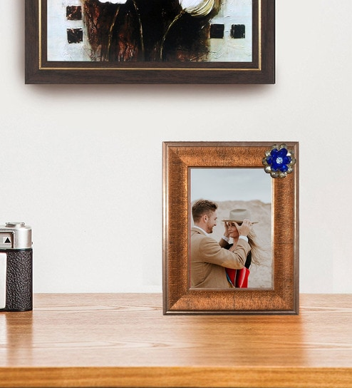 Buy Copper 8X 0.8X 10 Inch Synthetic Wood Copper Picture Frame By ...