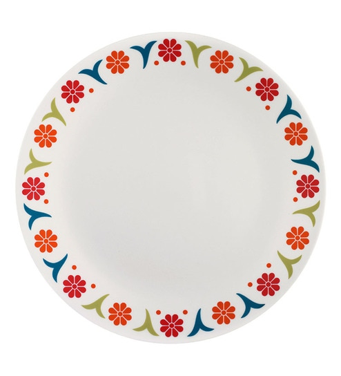 Corelle India Impressions Sunshine 6 Pcs Dinner Plate  sc 1 st  Pepperfry : dinner plates india - pezcame.com