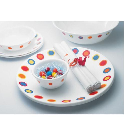 Corelle Livingware Hot Dots 6 Pcs Dinner Plate  sc 1 st  Pepperfry & Corelle Livingware Hot Dots 6 Pcs Dinner Plate by Corelle Online ...